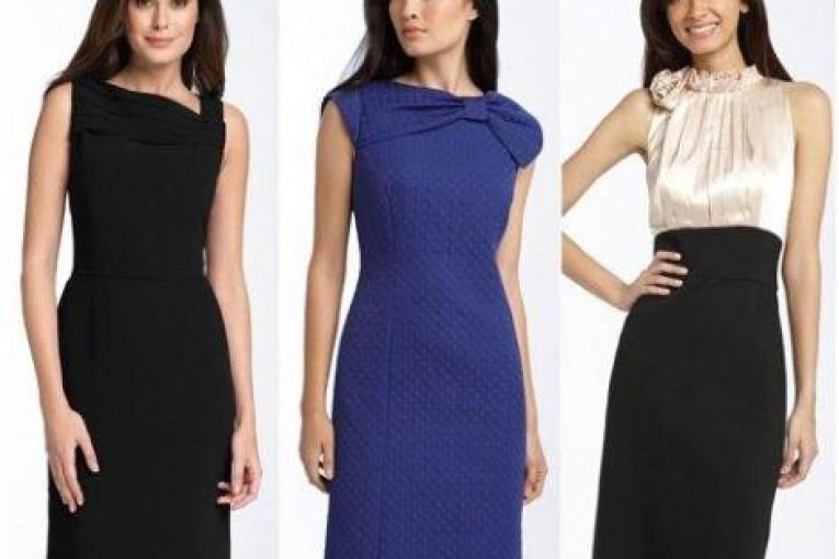 Как выбрать хорошие деловые платья для офиса?
