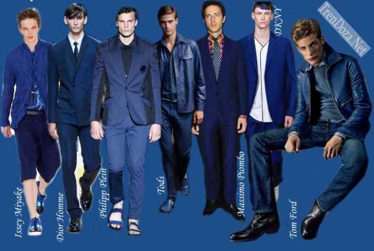 Classik Blue мужской цвет весны 2015 года