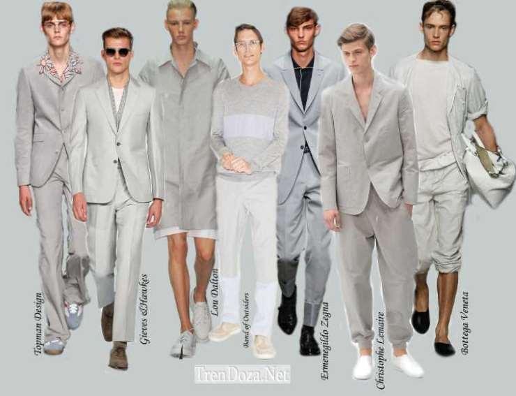 Glacier Gray - цвет в мужском гардеробе весной 2015 года