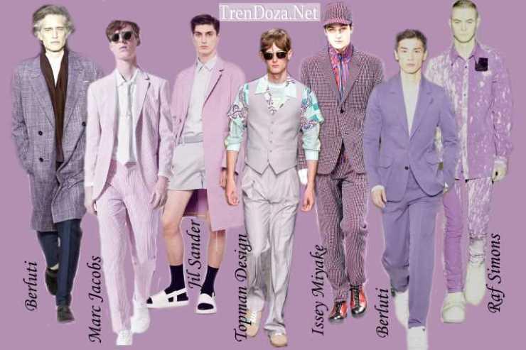 Lavender Herb - модный мужской цвет весны 2015 года