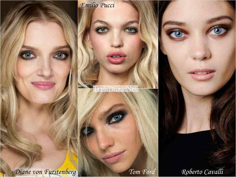 Макияж весны 2015 - акцент на глаза