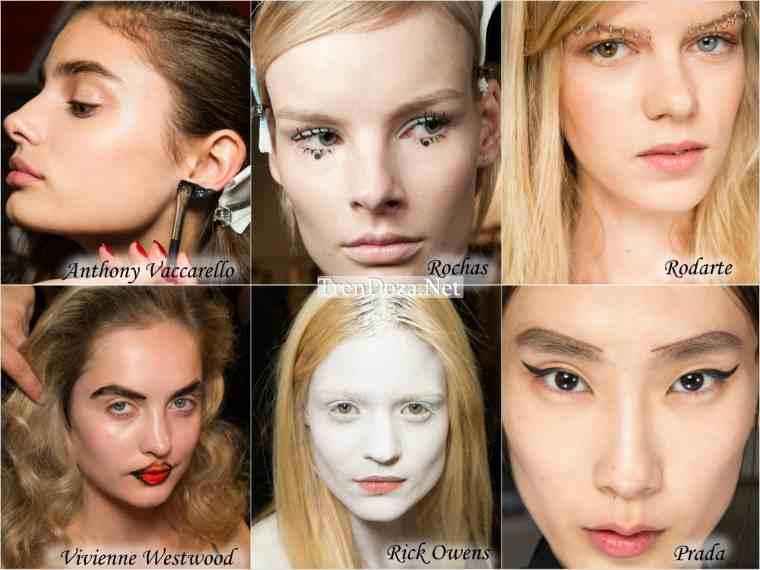 Эпатажный макияж весны 2015 года