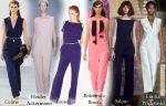 Модные комбинезоны 2015: Весна-Лето