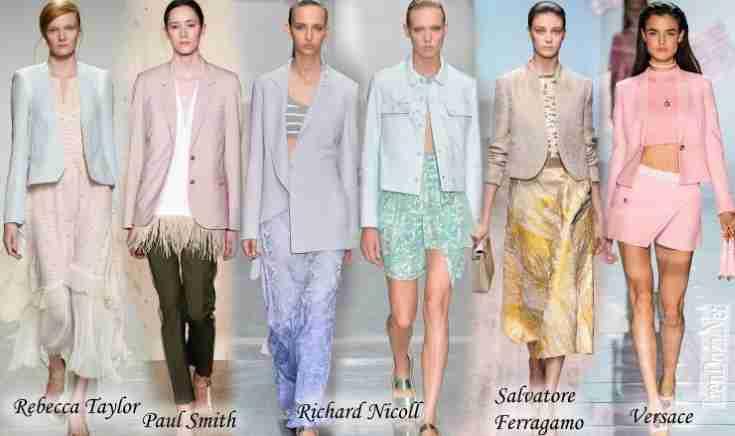Модные жакеты 2015 весна лето