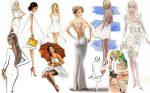 С чем носить белое платье — фото и примеры
