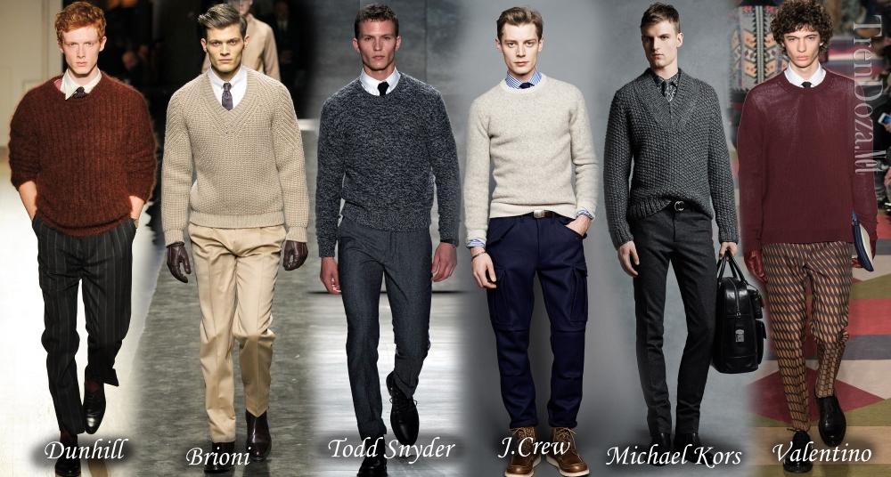 Мужские свитера 2015 2016 Осень Зима