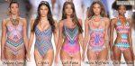 Слитные купальники 2015 лето в стиле Майями