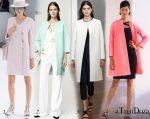 Модные пальто 2016 Весна в 10 тенденциях