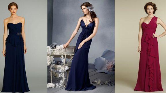 Красивые вечерние платья на свадьбу: как выбрать