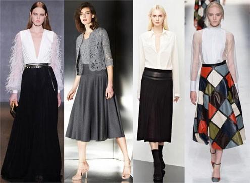 Мода 2016 юбка зима
