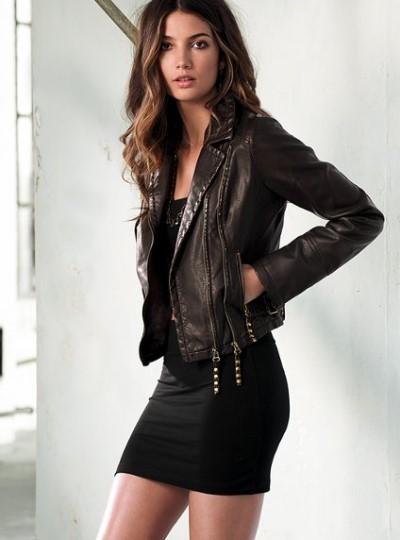 кожанные куртки тоже в моде