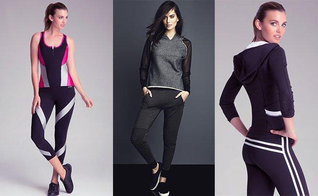 Модная женская спортивная одежда