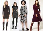 Модные шерстяные платья: тренды 2017 года