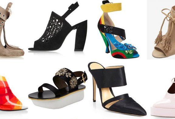 Модная весенняя женская обувь 2017