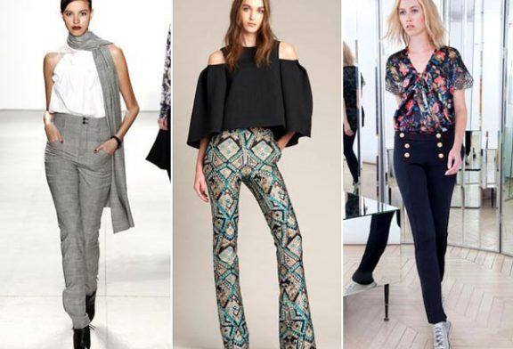 Женские брюки — весна лето 2017