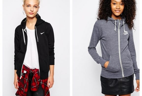 Модные женские худи и толстовки