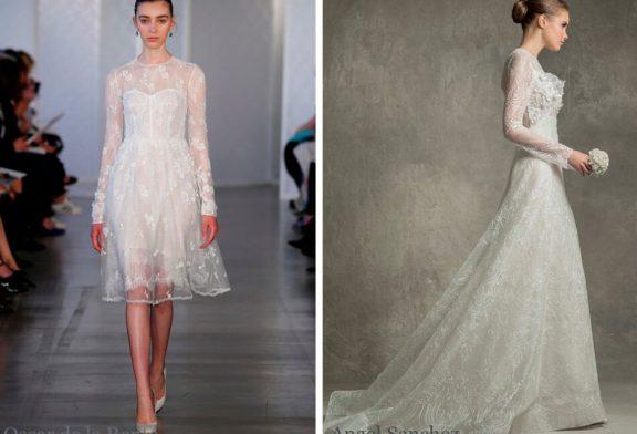 Модные свадебные платья: лето 2017
