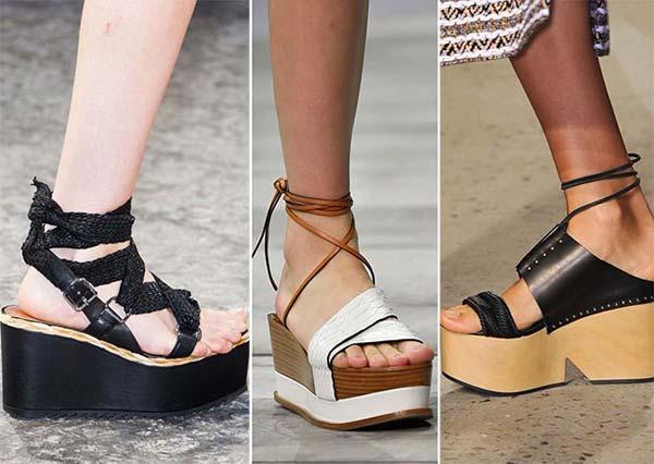 Модные женские сандалии сезона 2017