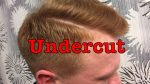 Undercut 2017 АНДЕРКАТ men's Grooming 2017 undercut