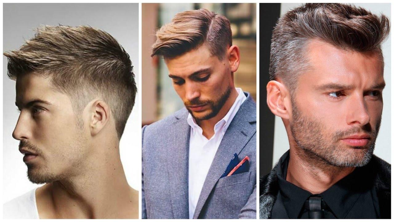 Мужские стрижки 2017 модные для круглого лица