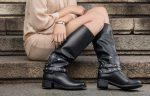 Кожаные женские ботинки: модные тренды 2017