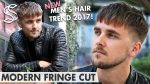 Fringe Cut Hairstyle ★ Men's hair trends 2017 ★ New Hair Fashion