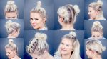 10 EASY Different Bun Hairstyles For Short Hair | Milabu