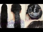 Easy Hairstyle for long hair |New Simple unique hairstyle 2017| hairstick hairstyle