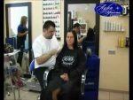 Модная стрижка для вьющихся волос