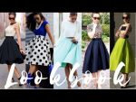 How To Style Swing Skirts 2017 Fashion Trends | Lookbook