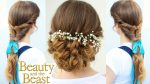 Emma Watson's Belle Inspired Hairstyles   Beauty and the Beast Hairstyles   Braidsandstyles12