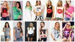 Модные женские футболки 2016 года / Women's fashion t-shirt 2016