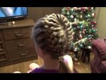 Супер причёска за 10 минут! Hairstyles.Braids.Tutorial.