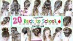 20 Back to School Heatless Hairstyles (2016) | School Hairstyles | Braidsandstyles12