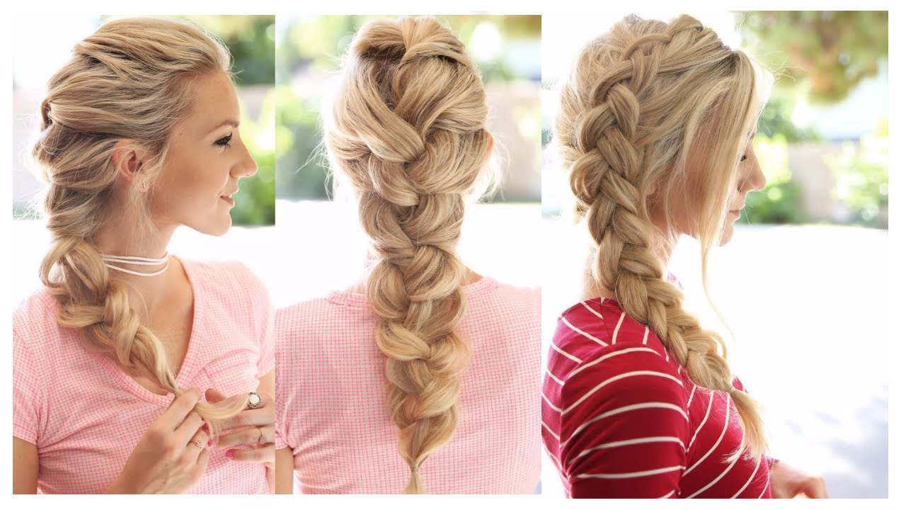15 CUTE & EASY Braid Hairstyles , Most Beautiful Braid Hairstyles | 2017, How To Braid For Own Hair