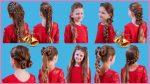 Топ 10 Причесок на 1 сентября Прически в Школу На Каждый День