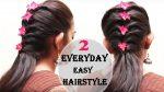 Easy Hair Style Design 2017   Everyday Hair style   Ladies Hair style Tutorials 2017