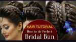How to Do a Perfect Bridal Bun Hair Tutorial Video | Fast and Easy Bridal Bun Tutorial for Wedding