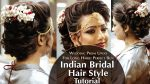 Indian Bridal Hair Style | Perfect Long Hair Bun Tutorial | Krushhh by Konica