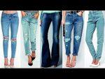 МОДНЫЕ ТРЕНДЫ ДЖИНСОВ 2017 фото Джинсовые Луки Веснa Лето Fashion Trends Jeans Lookbook 2017