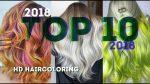 » СВЕЖИЙ TOП » 10 Окрашиваний Волос 2018 /  NEW 2018 Hair Color Transformations