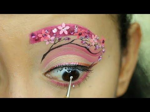 Топ 15 удивительный яркий макияж