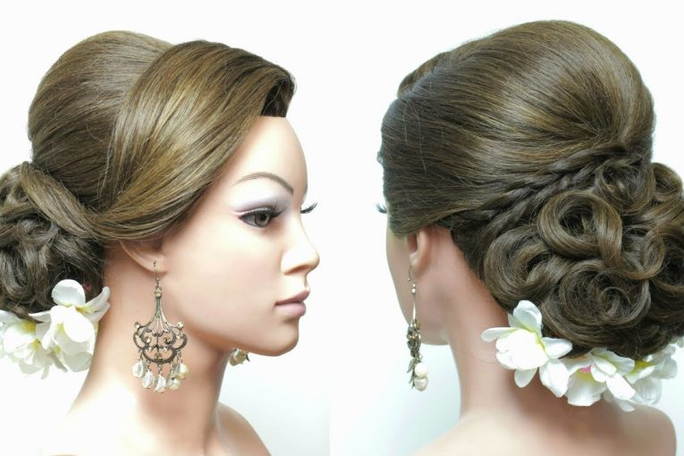 Bridal Updo. Hairstyles For Wedding