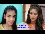 Party Hairstyle for festive occasion in just 2 min for girls at home | Diwali Special Hairstyle