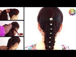 How to make Easy & Simple hairstyle for party — Easy Hairstyle Tutorials 2017 —  YouTube .