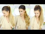 How To Do a Ponytail With Hair Extensions | 3 Ways