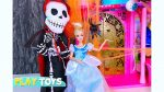 Barbie Dolls Dressup Costume Superhero 4 Halloween: Rapunzel LadyBug Cinderella Elsa Anna Superwoman