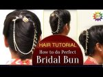 Perfect Wedding Hairstyle  For Beautiful Brides // Bridal hairstyle  tutorial- 2017  — YouTube .
