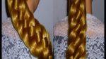 Косичка из 6 прядей.Самый простой способ.ЛЁГКО!! Причёски Для длинных волос на каждый день в школу