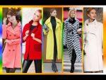 Модное пальто осень — зима 2018